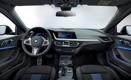 2020 BMW M135i xDrive (Color: Misano Blue Metallic) Interior Wallpapers 450x275 (50)