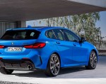 2020 BMW M135i xDrive (Color: Misano Blue Metallic) Rear Three-Quarter Wallpapers 150x120 (12)