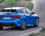 2020 BMW M135i xDrive (Color: Misano Blue Metallic) Rear Three-Quarter Wallpapers 150x120 (6)