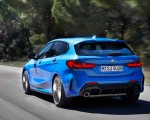2020 BMW M135i xDrive (Color: Misano Blue Metallic) Rear Three-Quarter Wallpapers 150x120 (7)