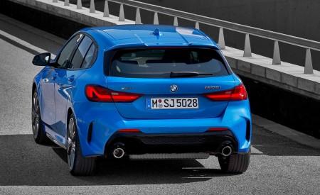 2020 BMW M135i xDrive (Color: Misano Blue Metallic) Rear Wallpapers 450x275 (9)