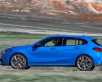 2020 BMW M135i xDrive (Color: Misano Blue Metallic) Side Wallpapers 150x120 (14)