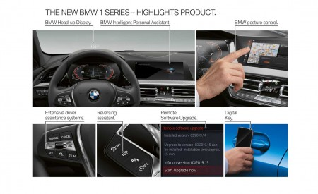 2020 BMW M135i xDrive (Color: Misano Blue Metallic) Technology Wallpapers 450x275 (55)