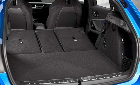 2020 BMW M135i xDrive (Color: Misano Blue Metallic) Trunk Wallpapers 450x275 (35)