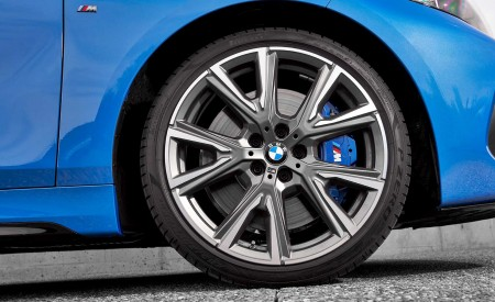 2020 BMW M135i xDrive (Color: Misano Blue Metallic) Wheel Wallpapers 450x275 (25)