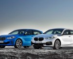 2020 BMW M135i xDrive (Color: Misano Blue Metallic) and BMW 1-Series 118i Wallpapers 150x120 (18)