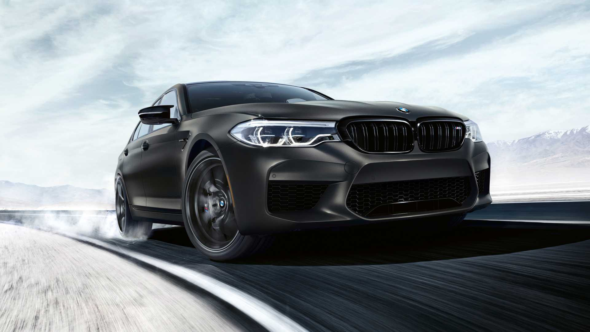 2020 BMW M5 Edition 35 Years Front Wallpapers (1)