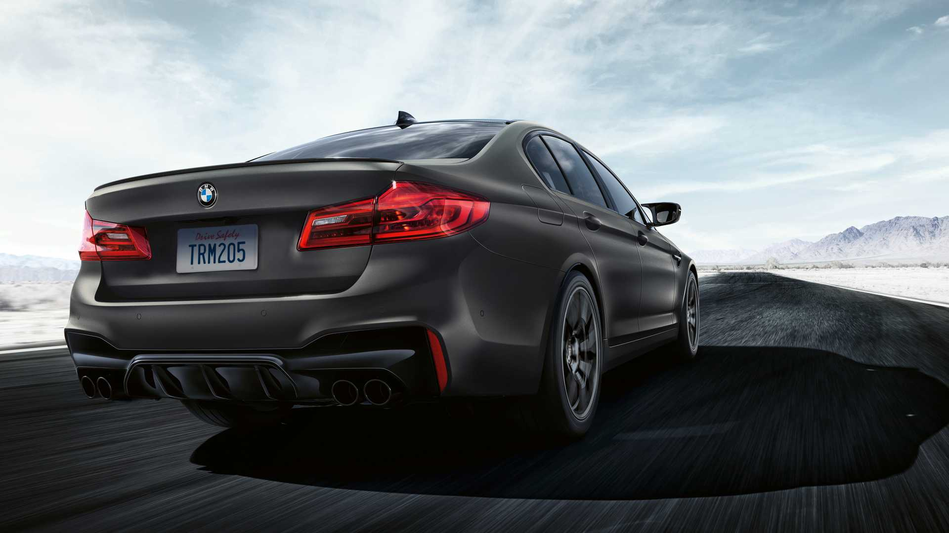 2020 BMW M5 Edition 35 Years Rear Wallpapers (5)