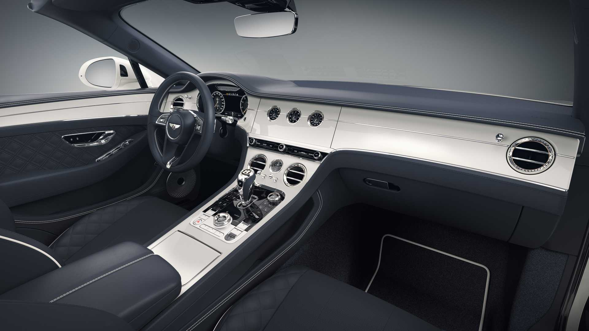 2020 Bentley Continental GT Convertible Bavaria Edition Interior Wallpapers (4)