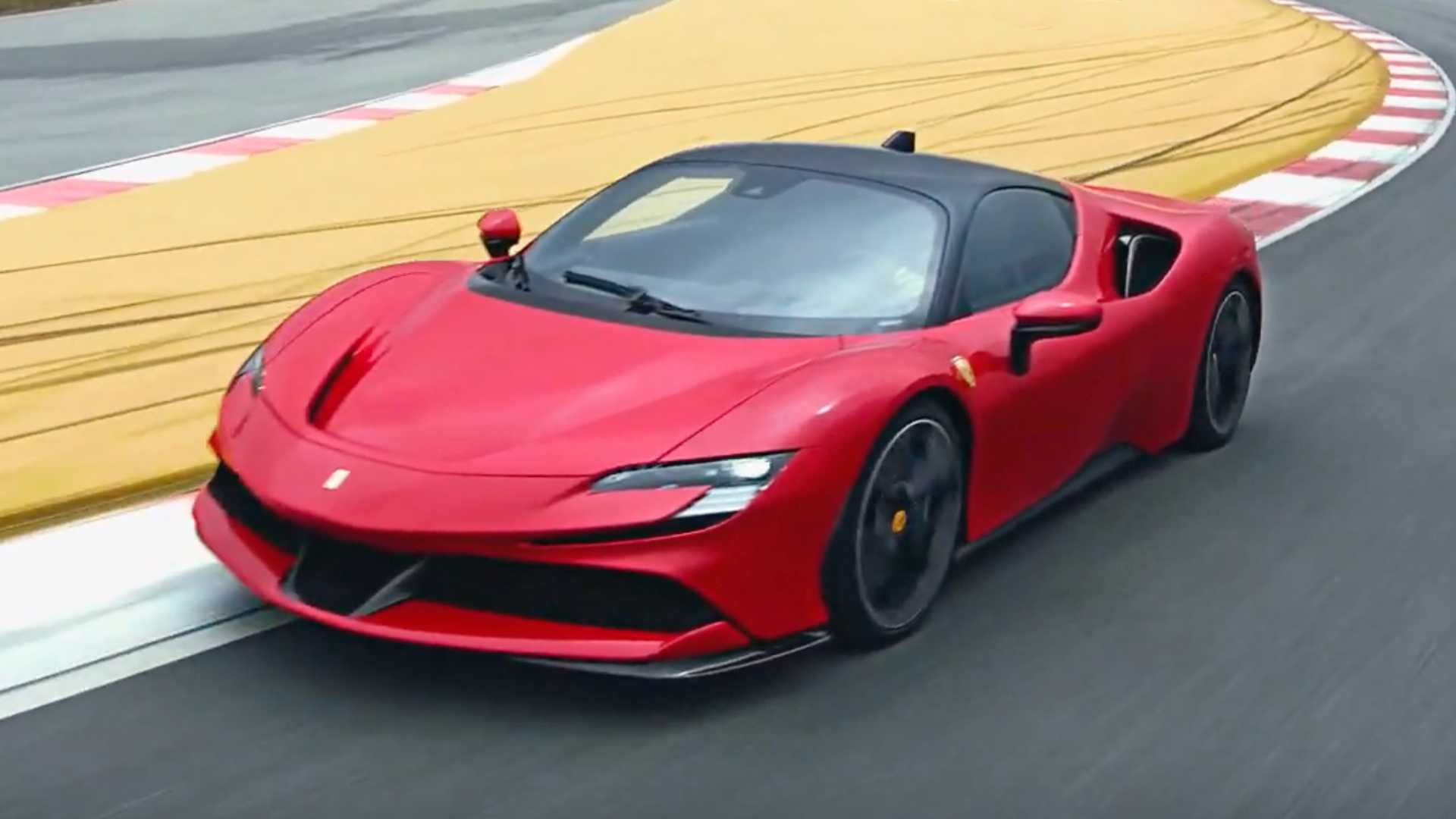 2020 Ferrari SF90 Stradale Front Three-Quarter Wallpapers (4)
