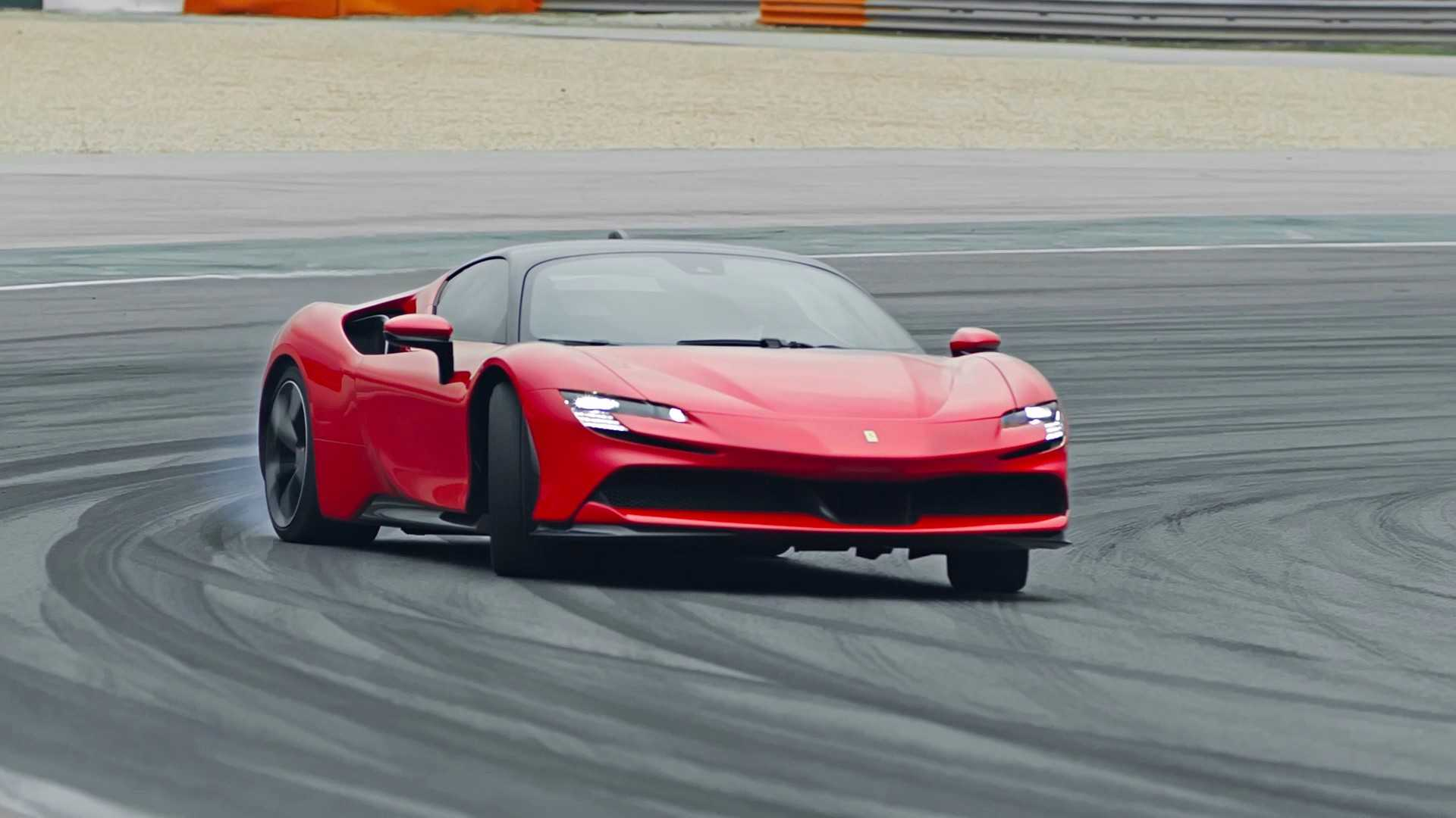 2020 Ferrari SF90 Stradale Front Three-Quarter Wallpapers (6)