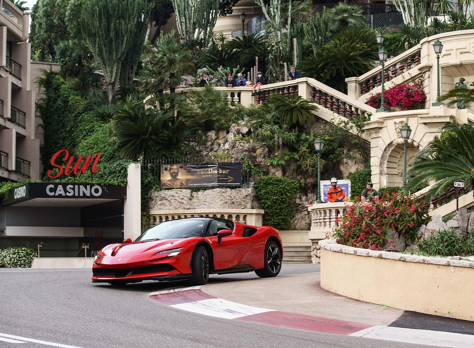 2020 Ferrari SF90 Stradale Front Three-Quarter Wallpapers (6)