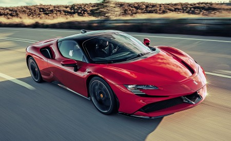 2020 Ferrari SF90 Stradale Wallpapers HD