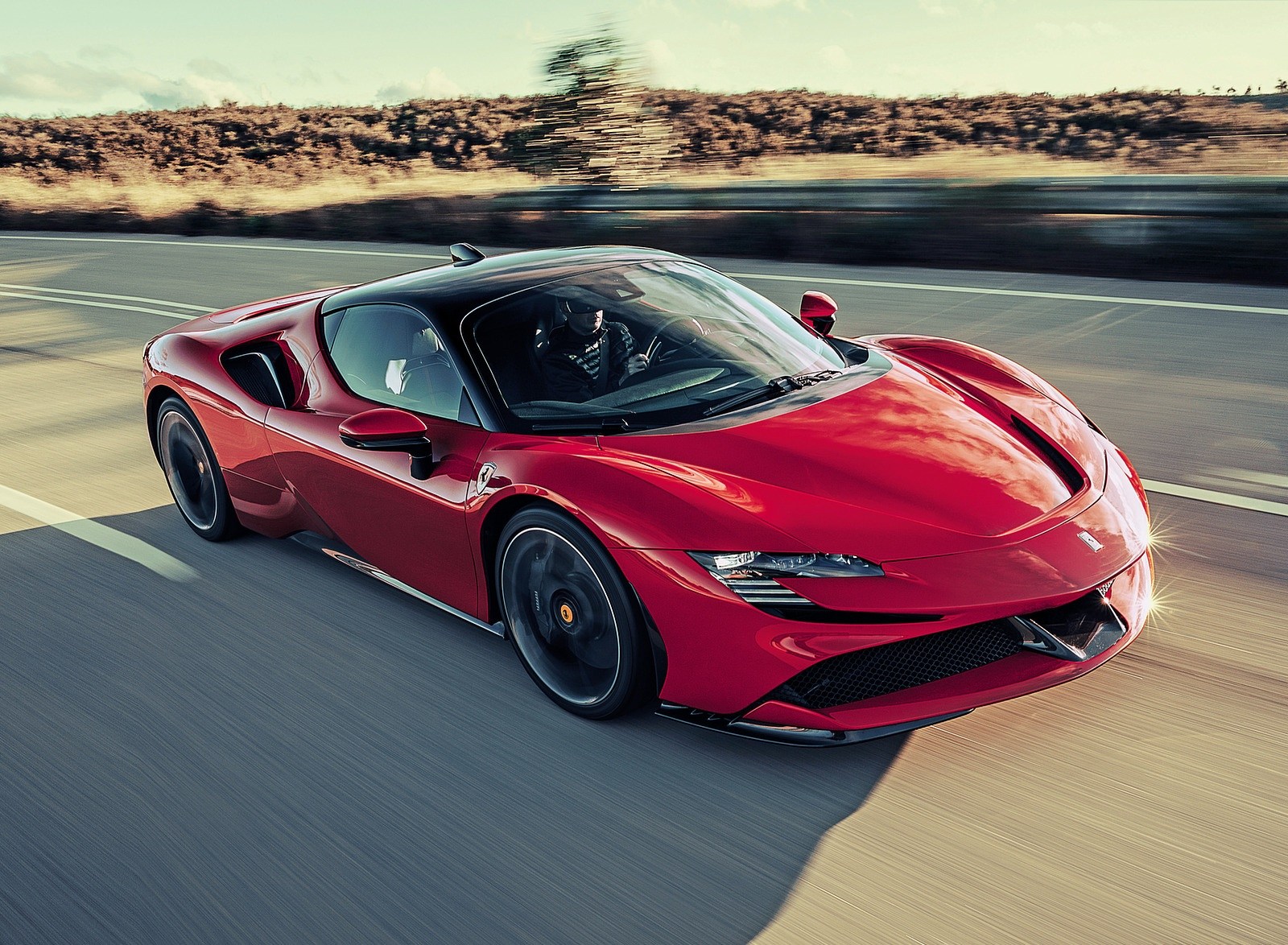 2020 Ferrari SF90 Stradale Front Three-Quarter Wallpapers (1)