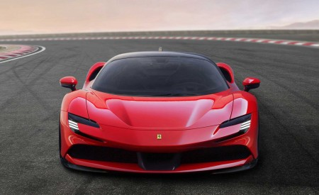 2020 Ferrari SF90 Stradale Front Wallpapers 450x275 (7)