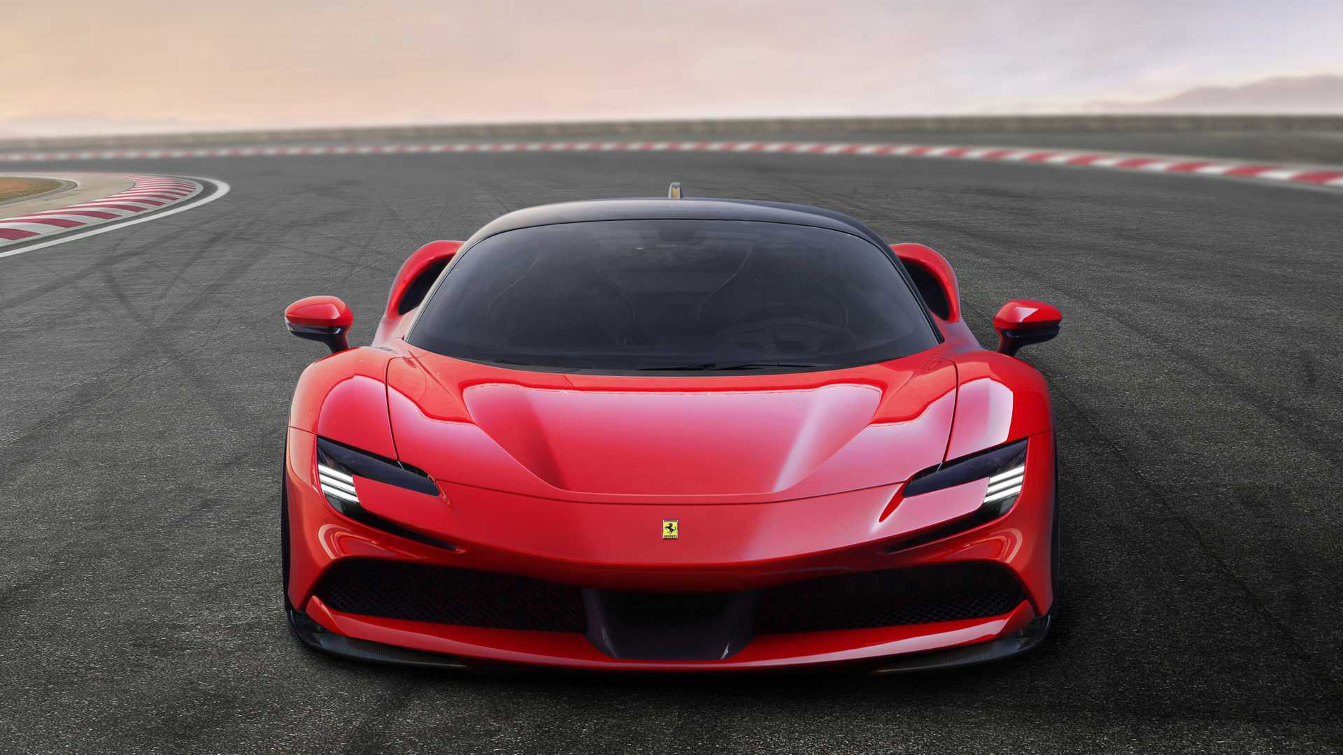 2020 Ferrari SF90 Stradale Front Wallpapers (7)
