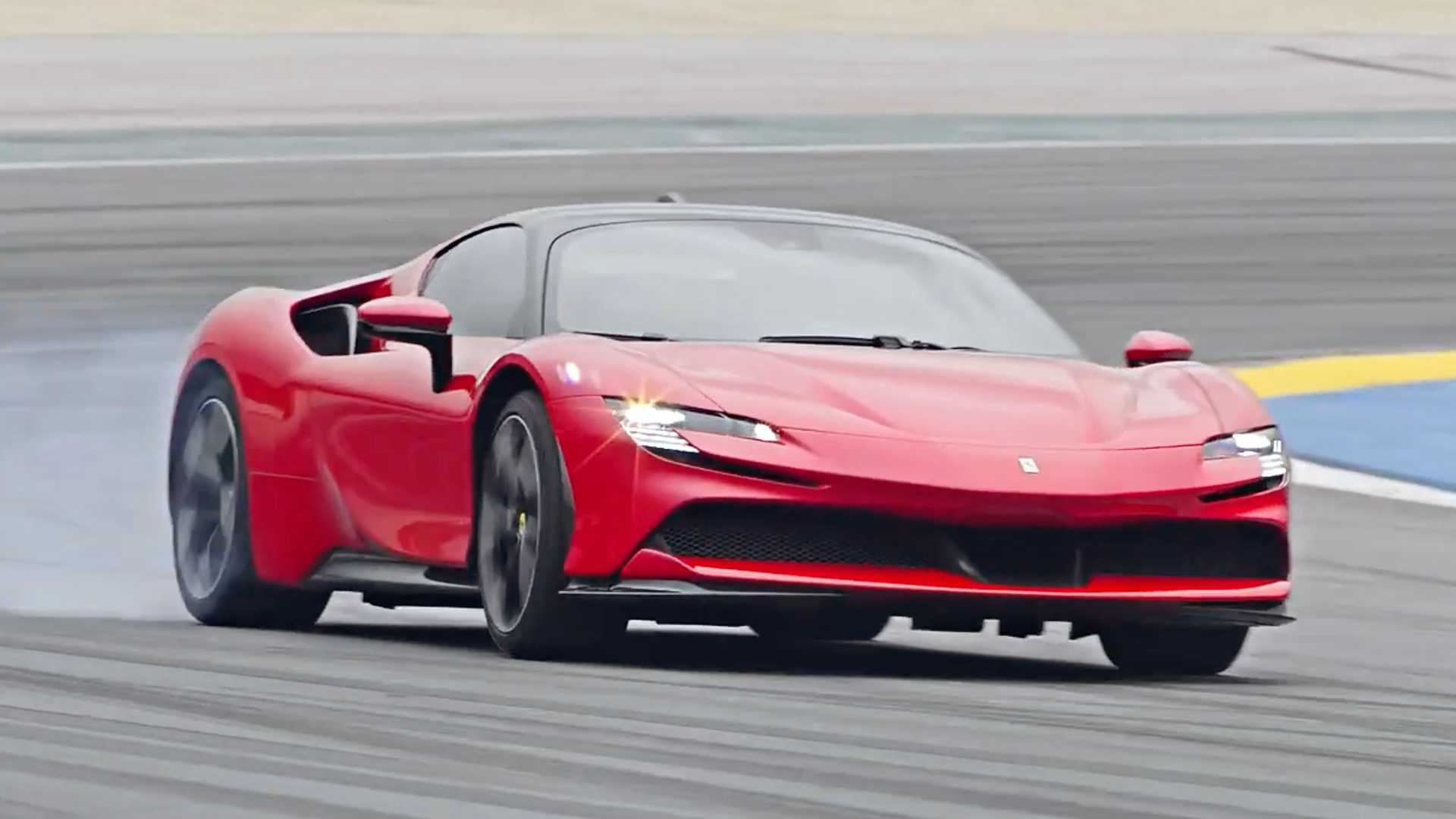 2020 Ferrari SF90 Stradale Front Wallpapers (8)