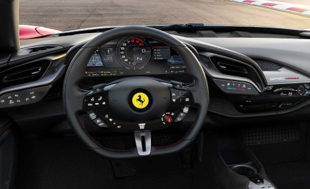2020 Ferrari SF90 Stradale Interior Steering Wheel Wallpapers 450x275 (25)