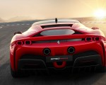 2020 Ferrari SF90 Stradale Rear Wallpapers 150x120 (14)