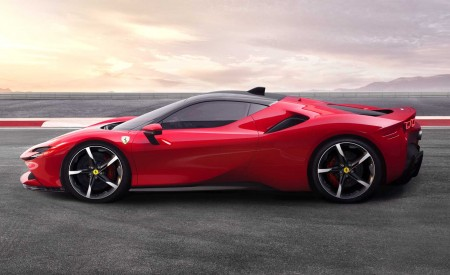2020 Ferrari SF90 Stradale Side Wallpapers 450x275 (16)