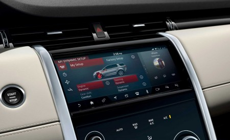 2020 Land Rover Discovery Sport Central Console Wallpaper 450x275 (70)
