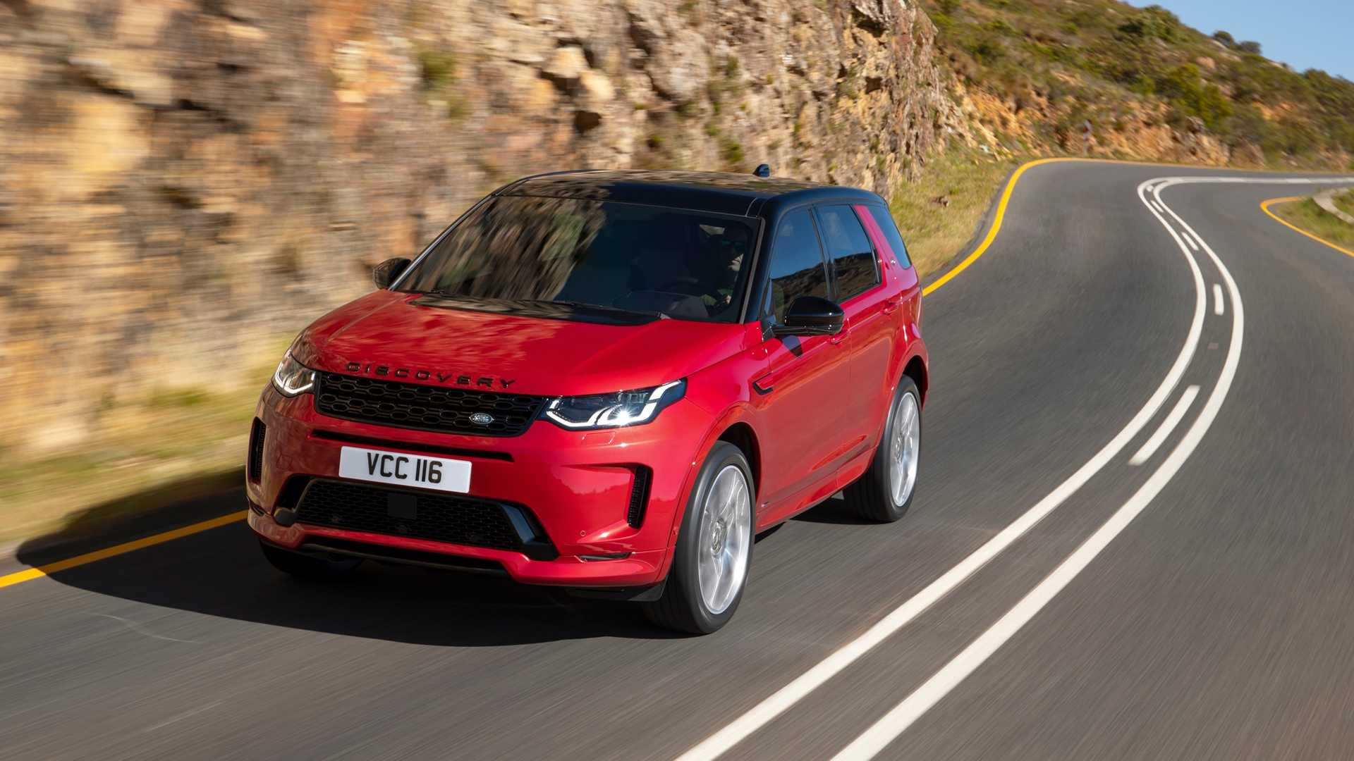 2020 Land Rover Discovery Sport Front Three-Quarter Wallpapers (2)