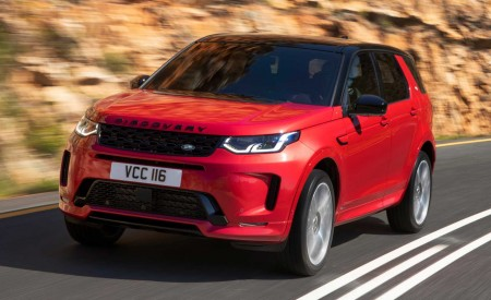 2020 Land Rover Discovery Sport Front Three-Quarter Wallpapers 450x275 (3)