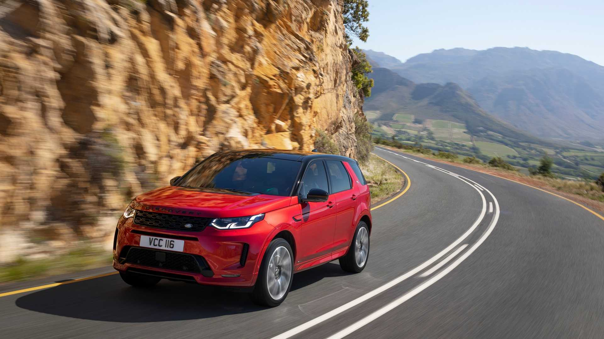 2020 Land Rover Discovery Sport Front Three-Quarter Wallpaper (5)