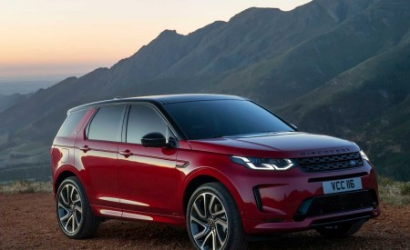2020 Land Rover Discovery Sport Front Three-Quarter Wallpapers 450x275 (27)