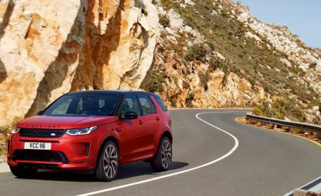 2020 Land Rover Discovery Sport Front Three-Quarter Wallpapers 450x275 (7)