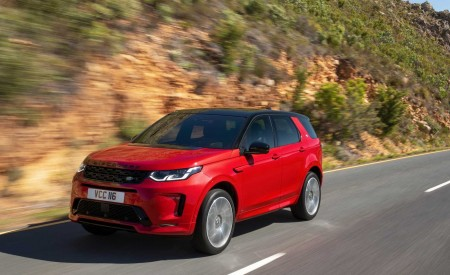 2020 Land Rover Discovery Sport Front Three-Quarter Wallpapers 450x275 (8)