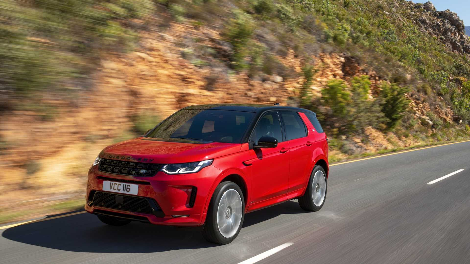 2020 Land Rover Discovery Sport Front Three-Quarter Wallpaper (8)