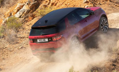 2020 Land Rover Discovery Sport Off-Road Wallpaper 450x275 (20)