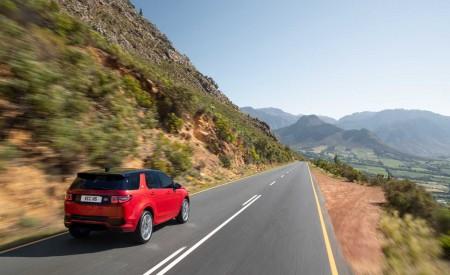 2020 Land Rover Discovery Sport Rear Three-Quarter Wallpaper 450x275 (9)