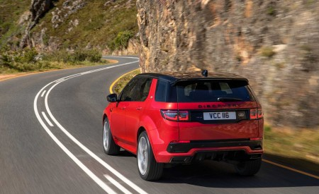 2020 Land Rover Discovery Sport Rear Wallpaper 450x275 (11)