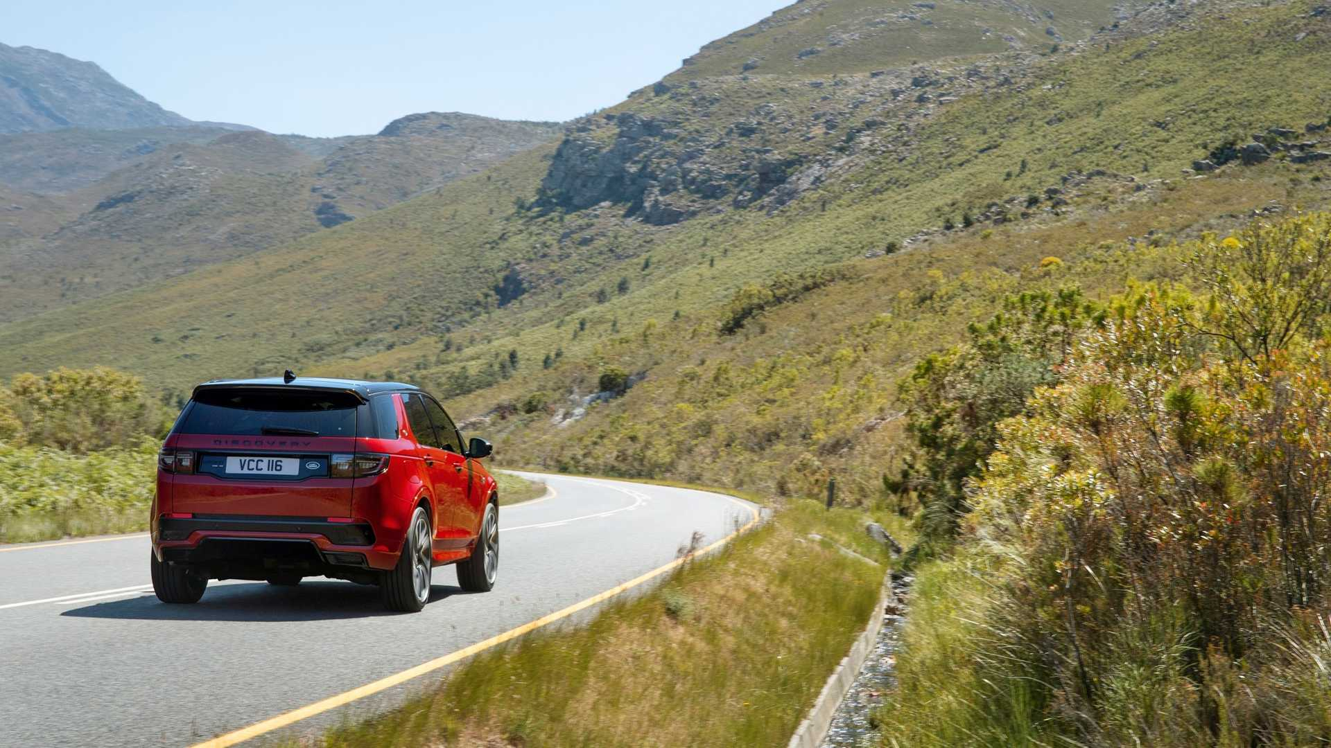 2020 Land Rover Discovery Sport Rear Wallpaper (12)