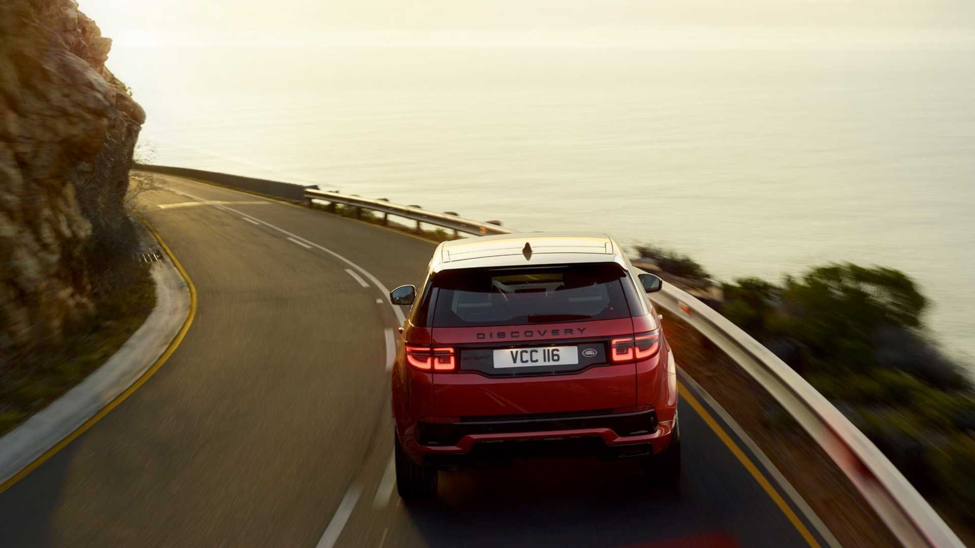 2020 Land Rover Discovery Sport Rear Wallpaper (13)