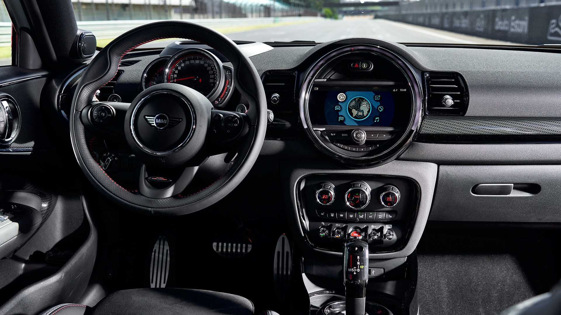 2020 MINI Clubman John Cooper Works Interior Steering Wheel Wallpapers #47 of 47