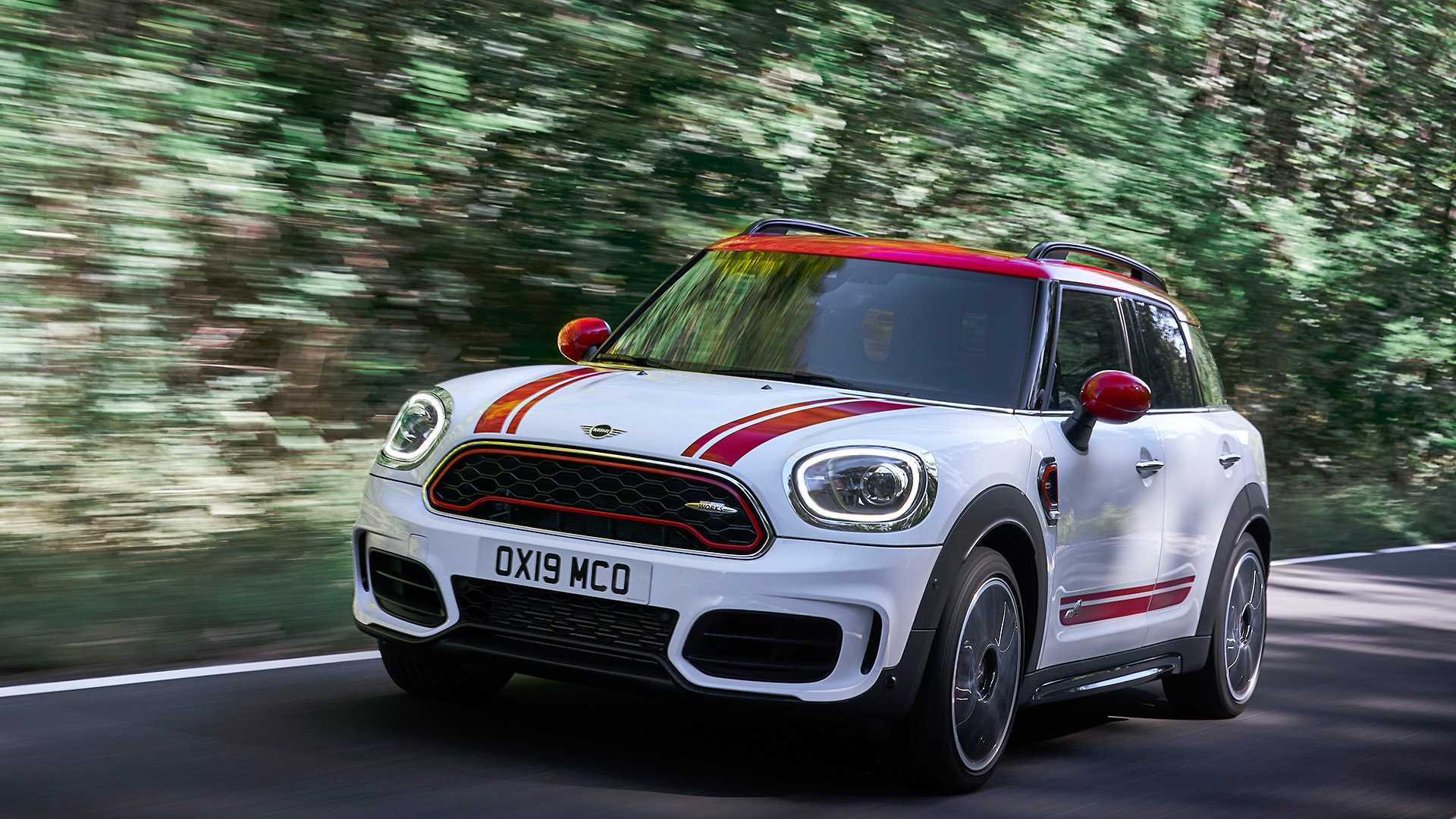 2020 MINI Countryman John Cooper Works Front Three-Quarter Wallpapers (2)