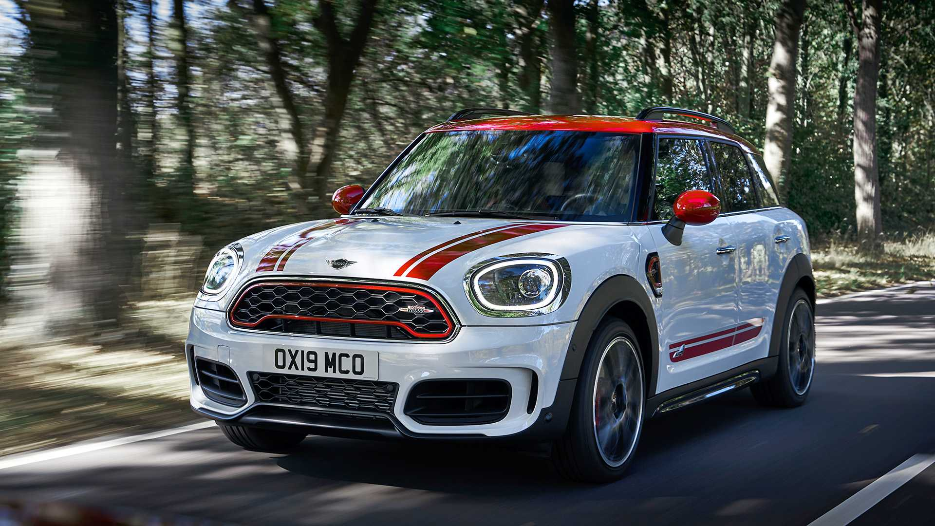 2020 MINI Countryman John Cooper Works Front Three-Quarter Wallpapers (3)