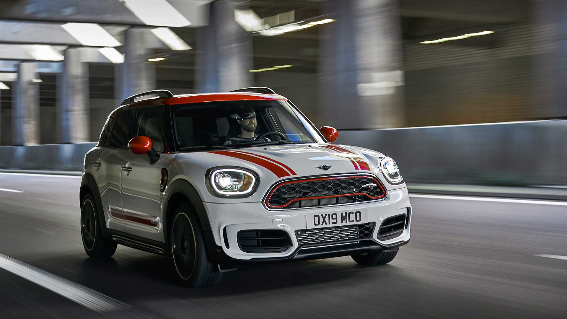 2020 MINI Countryman John Cooper Works Front Three-Quarter Wallpapers (4)