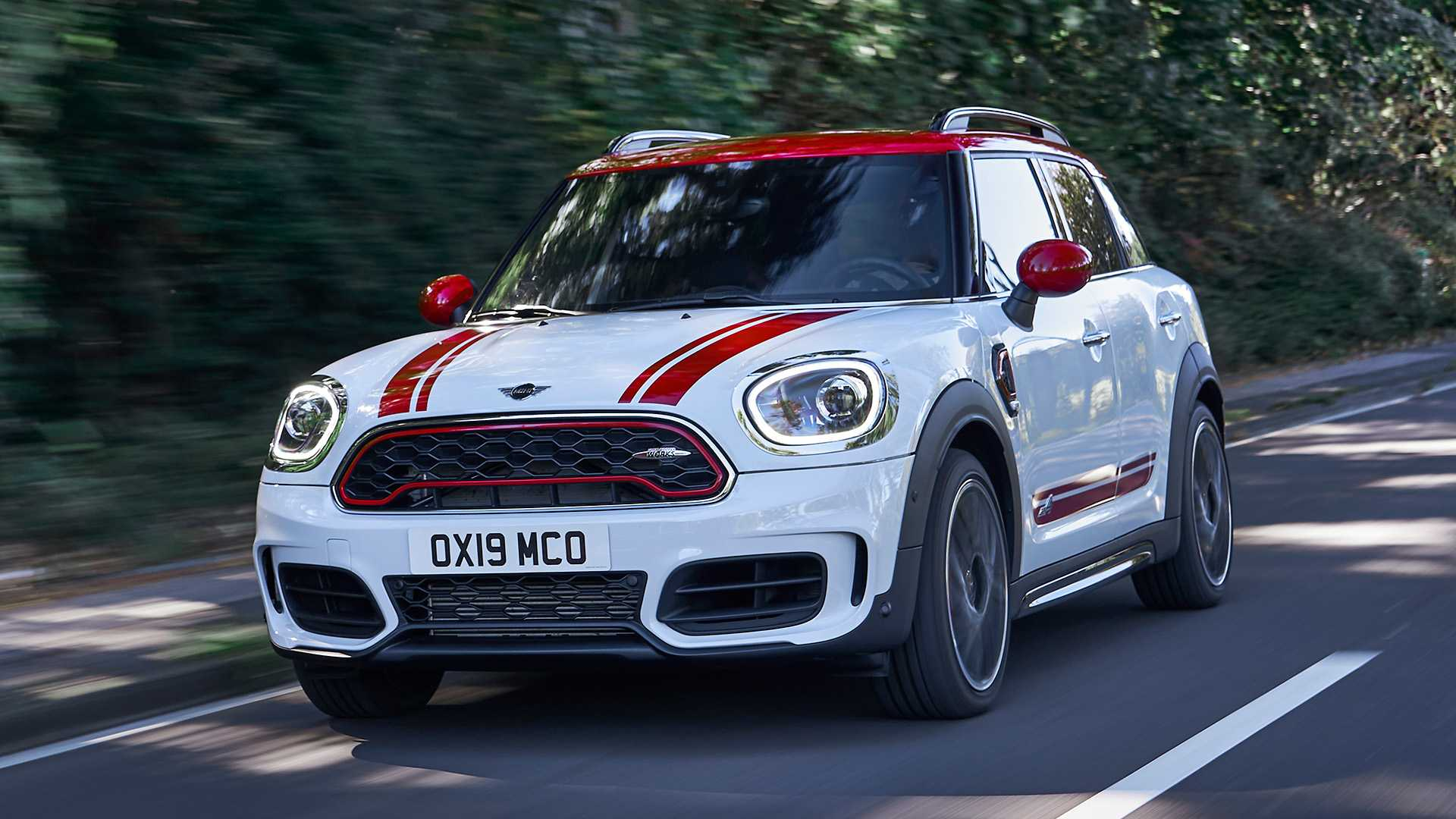 2020 MINI Countryman John Cooper Works Front Three-Quarter Wallpapers (5)