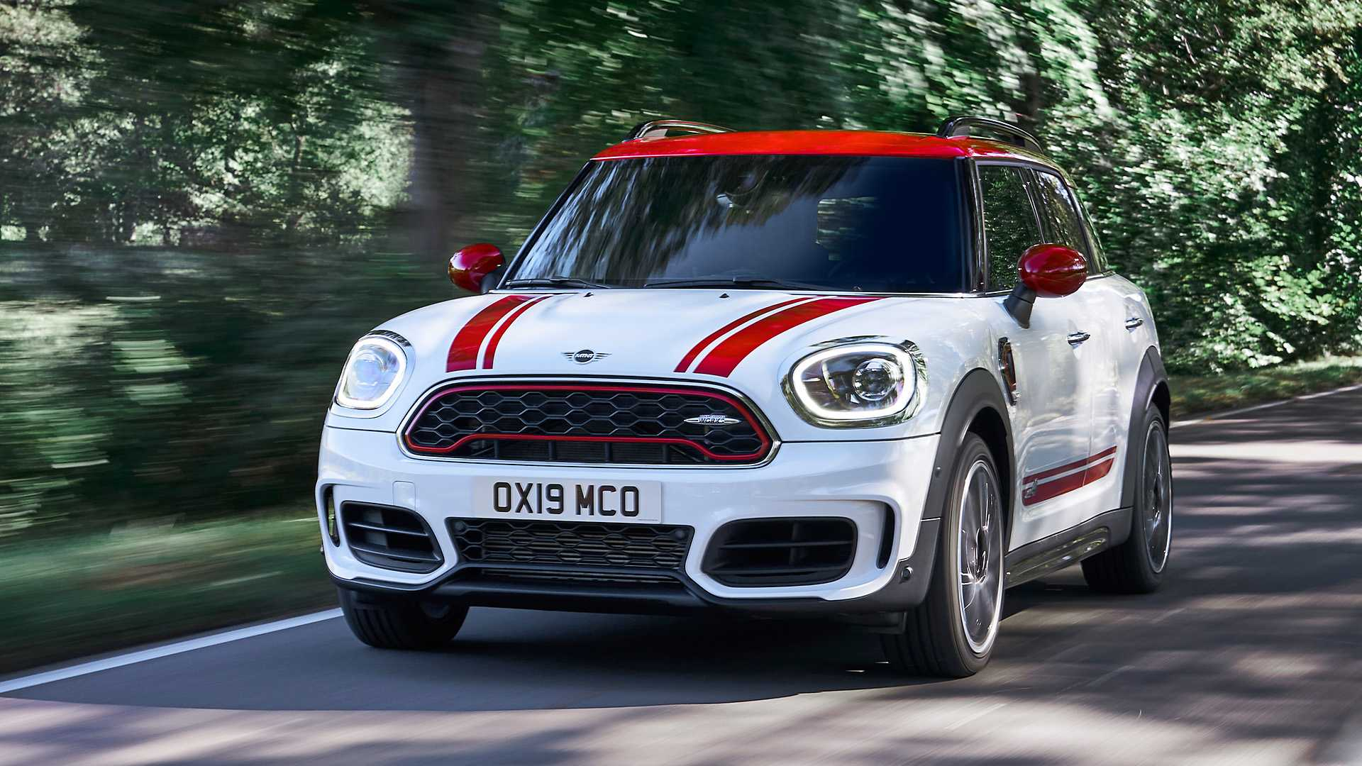 2020 MINI Countryman John Cooper Works Front Wallpapers (1)