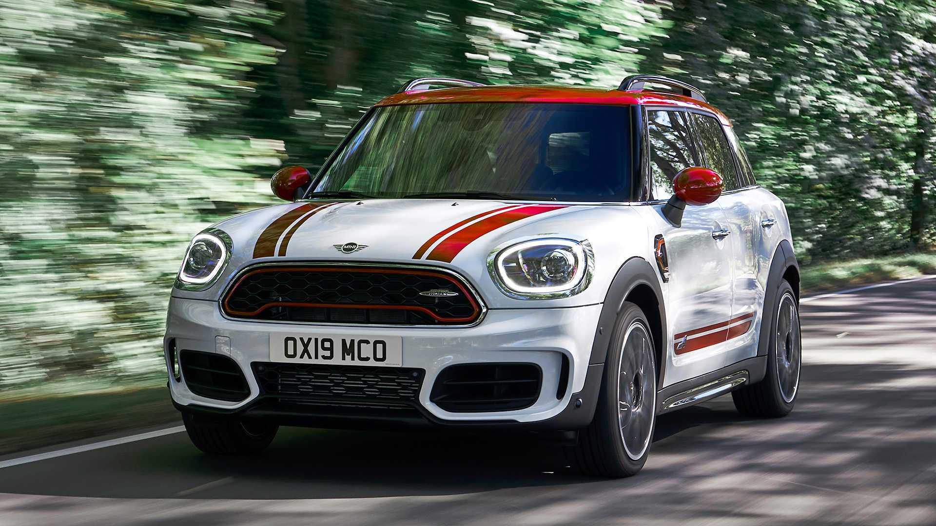 2020 MINI Countryman John Cooper Works Front Wallpapers (6)