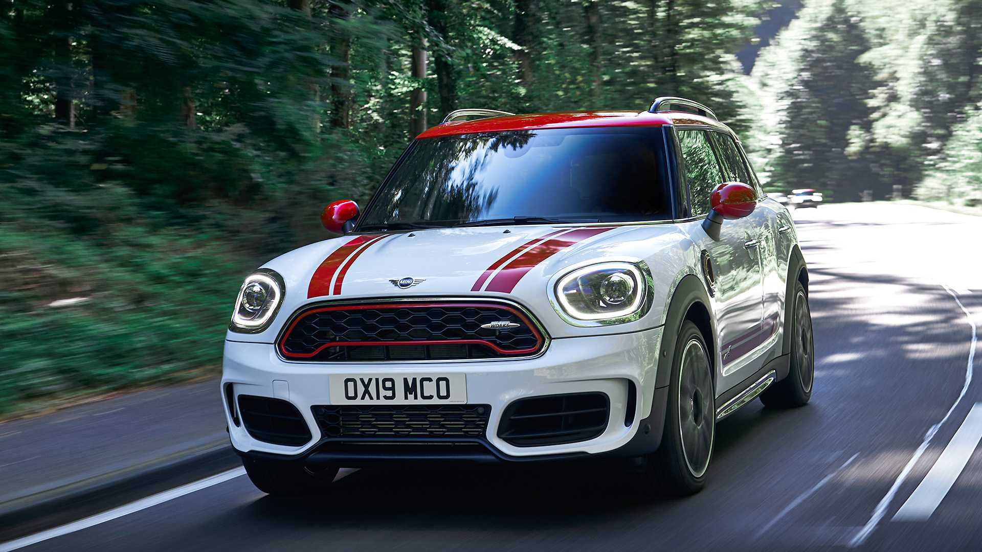 2020 MINI Countryman John Cooper Works Front Wallpapers (7)