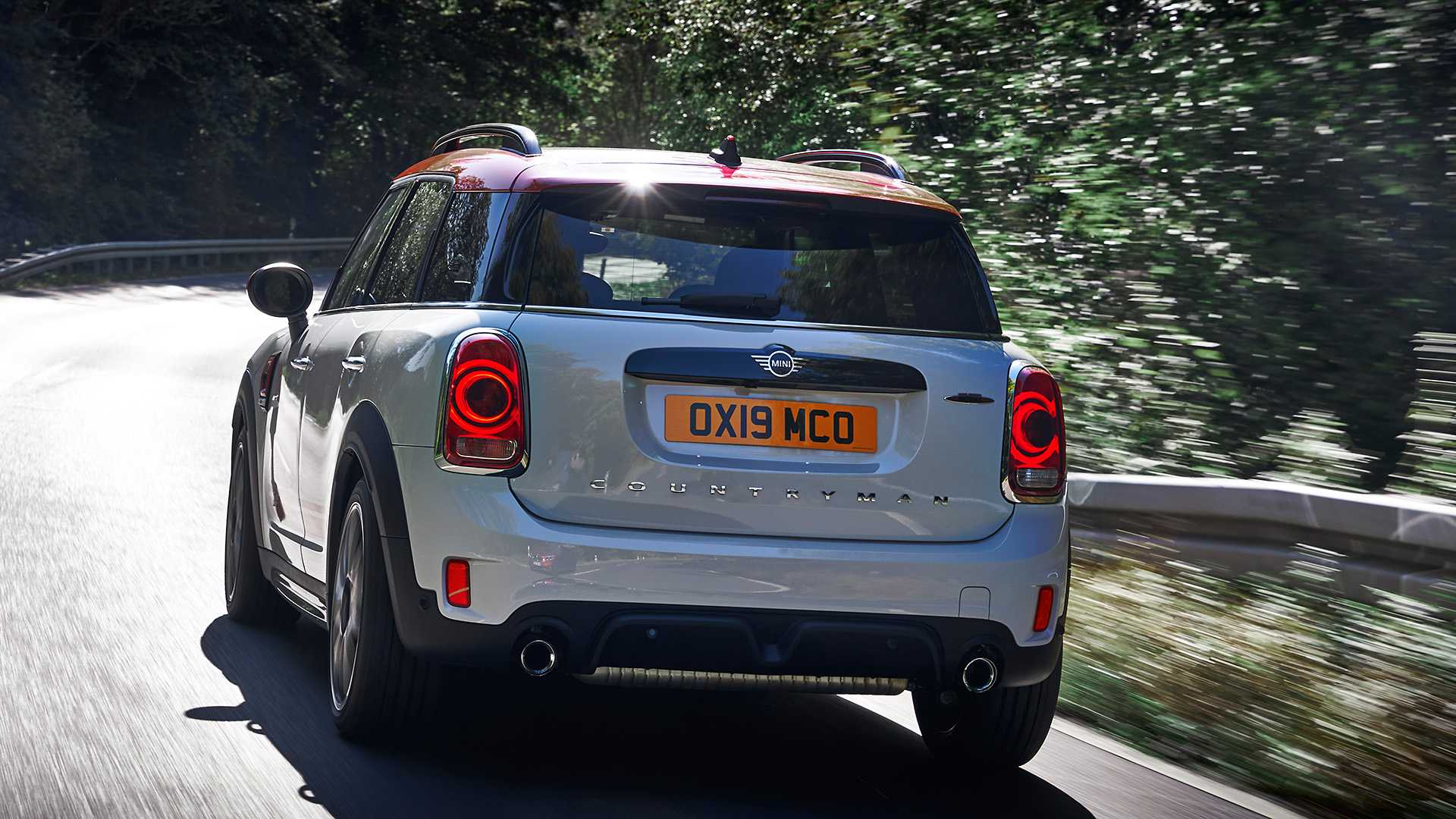 2020 MINI Countryman John Cooper Works Rear Three-Quarter Wallpapers (10)
