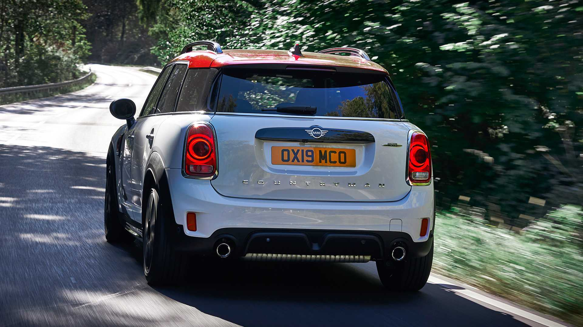 2020 MINI Countryman John Cooper Works Rear Wallpapers (11)