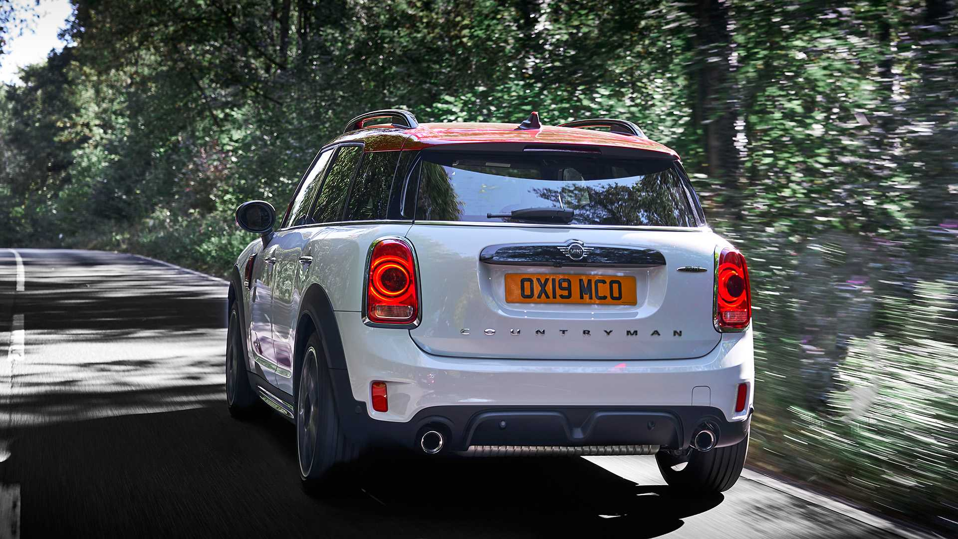 2020 MINI Countryman John Cooper Works Rear Wallpapers (12)