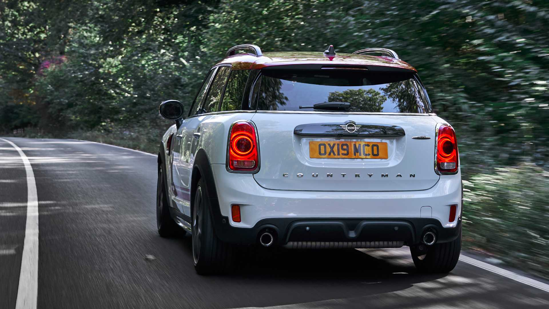 2020 MINI Countryman John Cooper Works Rear Wallpapers (13)