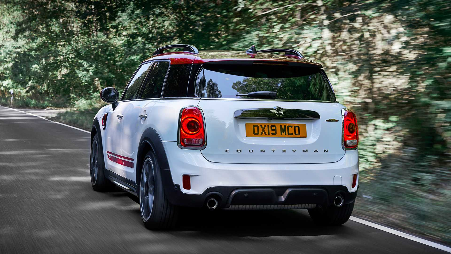 2020 MINI Countryman John Cooper Works Rear Wallpapers (8)